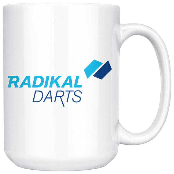 Radikal Darts Large Coffee Mug