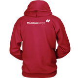 Radikal Darts Basic Hoodie - Back Logo Placement