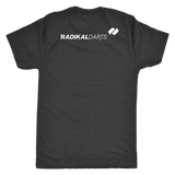 Radikal Darts Tri Blend T-Shirt - Back Logo Placement