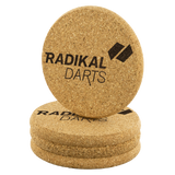 RadikalDarts Cork Coaster Set