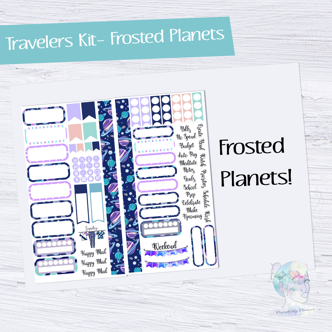 Functional Travelers Kit- Frosted Planets!