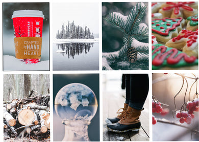 Winter Flurries Weekly Kit-Photography