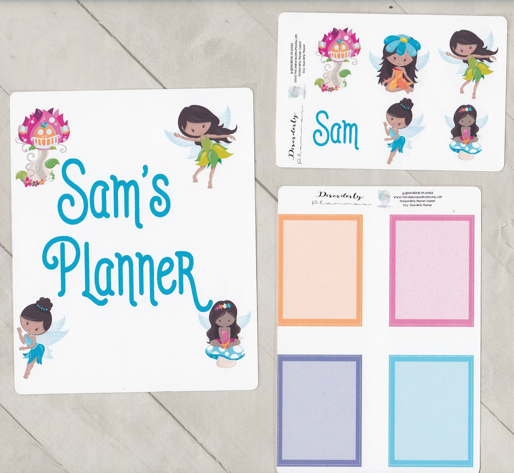 Plan like me custom personalized Planner Sticker Set