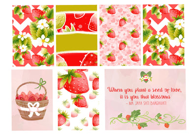 Strawberries Planner Kit
