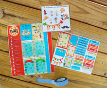 Pizza sticker kit - Pizza Party Stickers -Planner Sticker