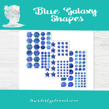 Functional Shape Trackers - Blue Galaxy