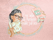 Functional Planner Weekly Stickers Mini Planner Girl Set Disorderly Planner