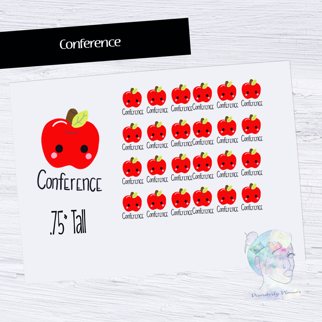 Hand Drawn Stickers -  Conference - Parent Teacher Meeting