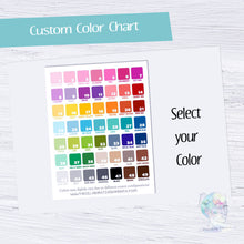Custom Colored Cloud Write Ins - Hanging Script Checklist Boxes