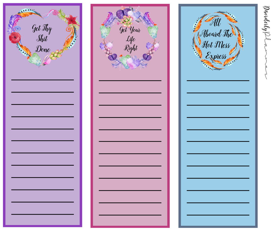 Custom Colored Double Box Planner Kit - Planner stickers - Functional Sticker Kit