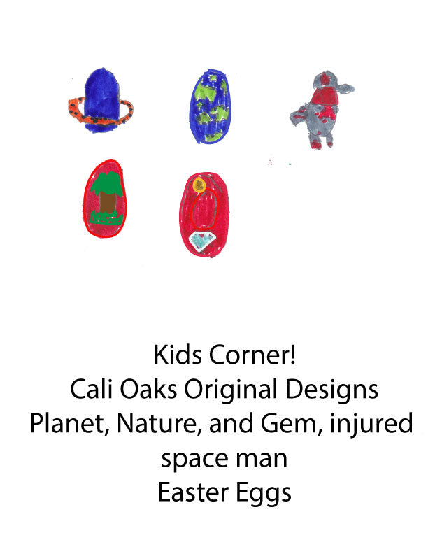 Kid Corner!  Easter Egg Hunt Cali Oak Sheets