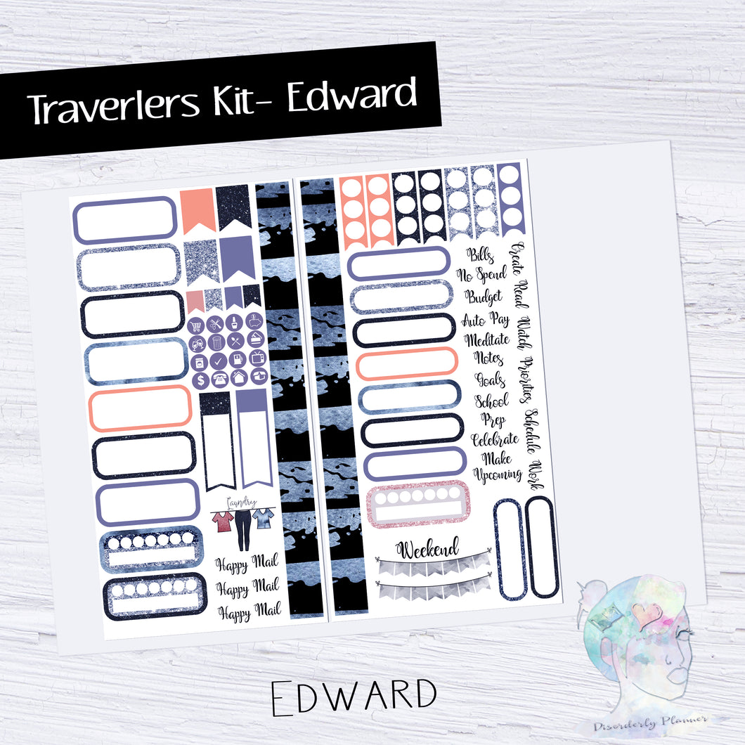 Functional Travelers Kit- Edward Scissorhands Halloween - Celebrities