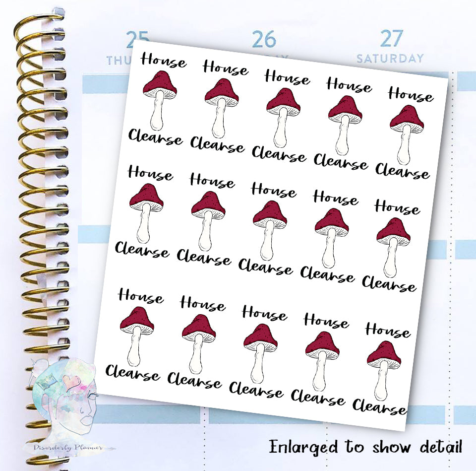 House Cleanse - Decorative Stickers