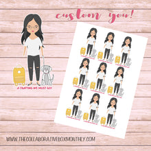 Custom - personalized - Planner Stickers -  Disorderly Planner - Custom Stickers