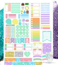 Sea Life Printable Planner Stickers
