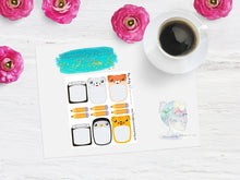 Disorderly Planner Mini Notebooks Planner Kit - Planner stickers -