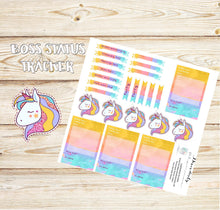 Cute - Business Stickers - Rainbow stickers - Tracking Stickers - unicorn Stickers -Planner stickers - Erin Condren - Sales Stickers