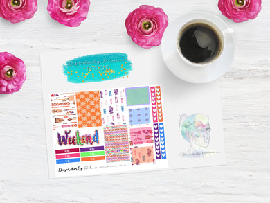 Boho Week mini sampler