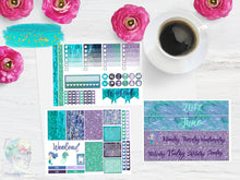 Abalone Fantasea Week sampler - Planner Stickers - Filo Fax - Erin Condren - Happy Planner Stickers - Weekly Kit - Functional