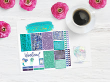 Abalone Fantasea Week mini sampler- Planner Stickers