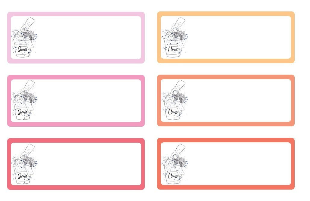 Functional To Clean Write ins Disorderly Planner Designs - planner stickers
