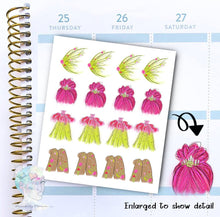 Fairy Stickers - Fantasy - Magic- functional doodle write ins Disorderly Planner Designs - planner stickers