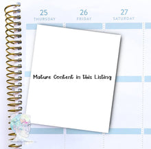 Mature Content  Sticker -  functional doodle write ins Disorderly Planner Designs - planner stickers