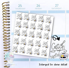 Watch Netflix - functional doodle write ins Disorderly Planner Designs - planner stickers