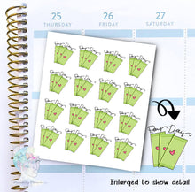 Money Stickers - Pay Day - Finance Stickers - Budgeting -  functional doodle write ins Disorderly Planner Designs - planner stickers