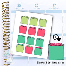 Summer - Note Stickers - To Do - Notepad -  functional doodle write ins Disorderly Planner Designs - planner stickers