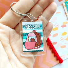 Back to school keychain
