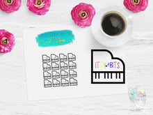 Custom Piano Listing Functional Stickers
