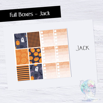 Functional Travelers Kit- Jack Halloween