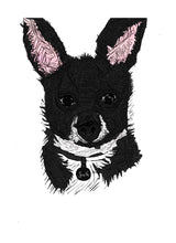 Jack the Chihuahua Decorative Pet Animal Stickers
