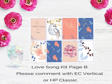 Love Song Weekly Kit