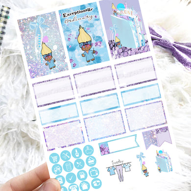 Luna Trollie Wizard Mini Kit - Single Pages