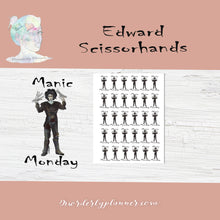 Edward Scissorhand Stickers - Celebrities