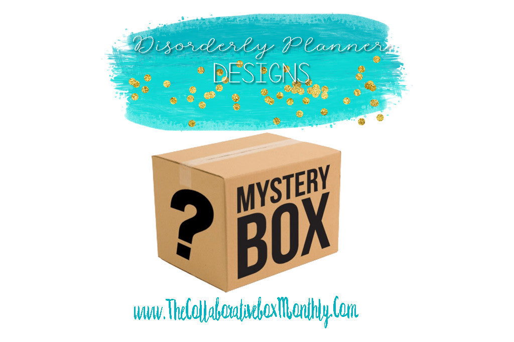Disorderly Planner Designs Mystery Planner Box Stickers and Accessories