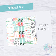 Functional Travelers Kit- Peachy Floral!