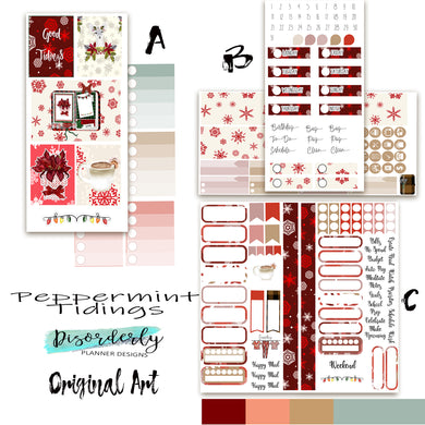 Peppermint Tidings - Sticker Bundle