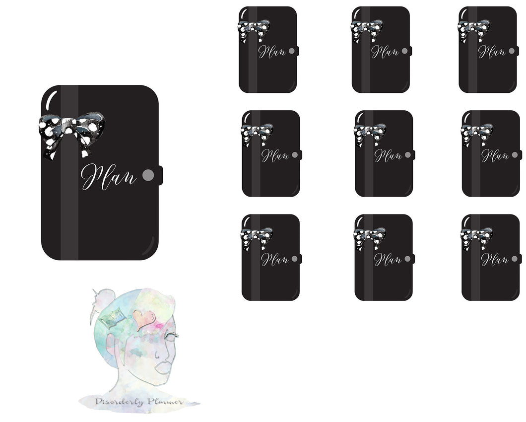 Planner Custom Colored Stickers