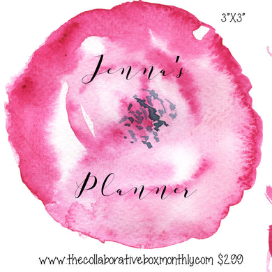 Personalized Planner Decals - Custom Planner Decals - Disorderly Planner -