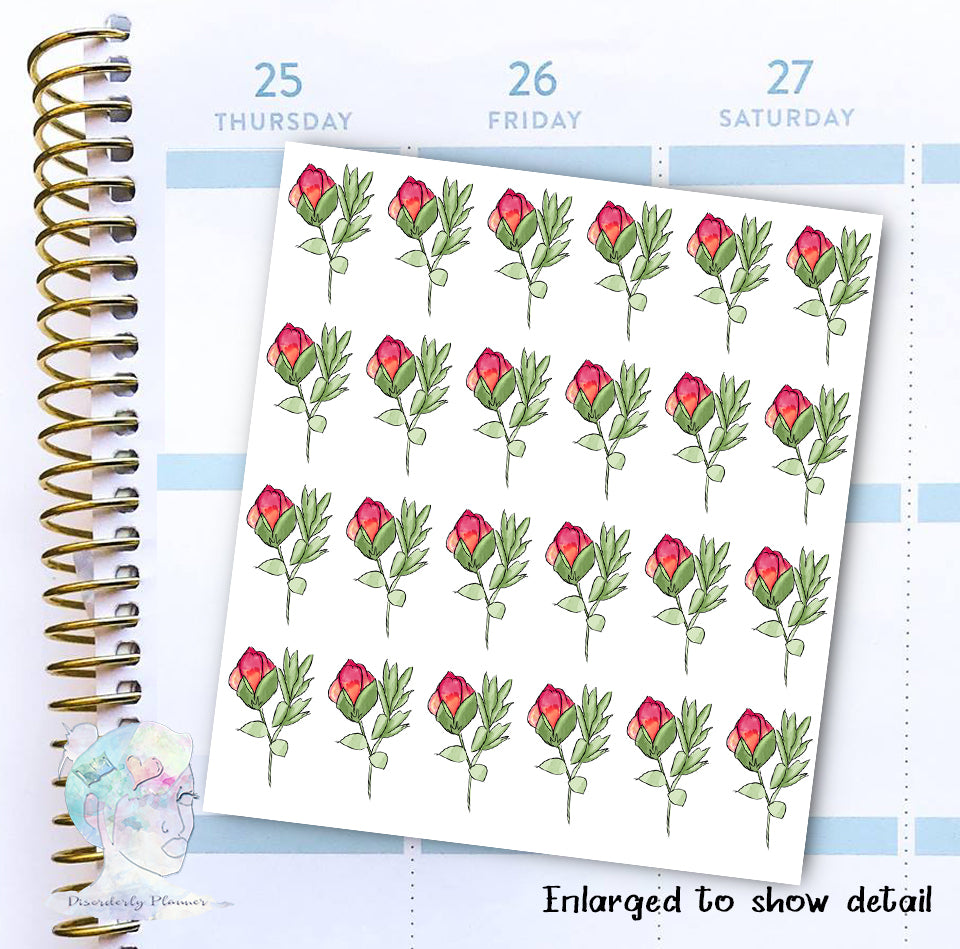 Roses - Decorative Stickers