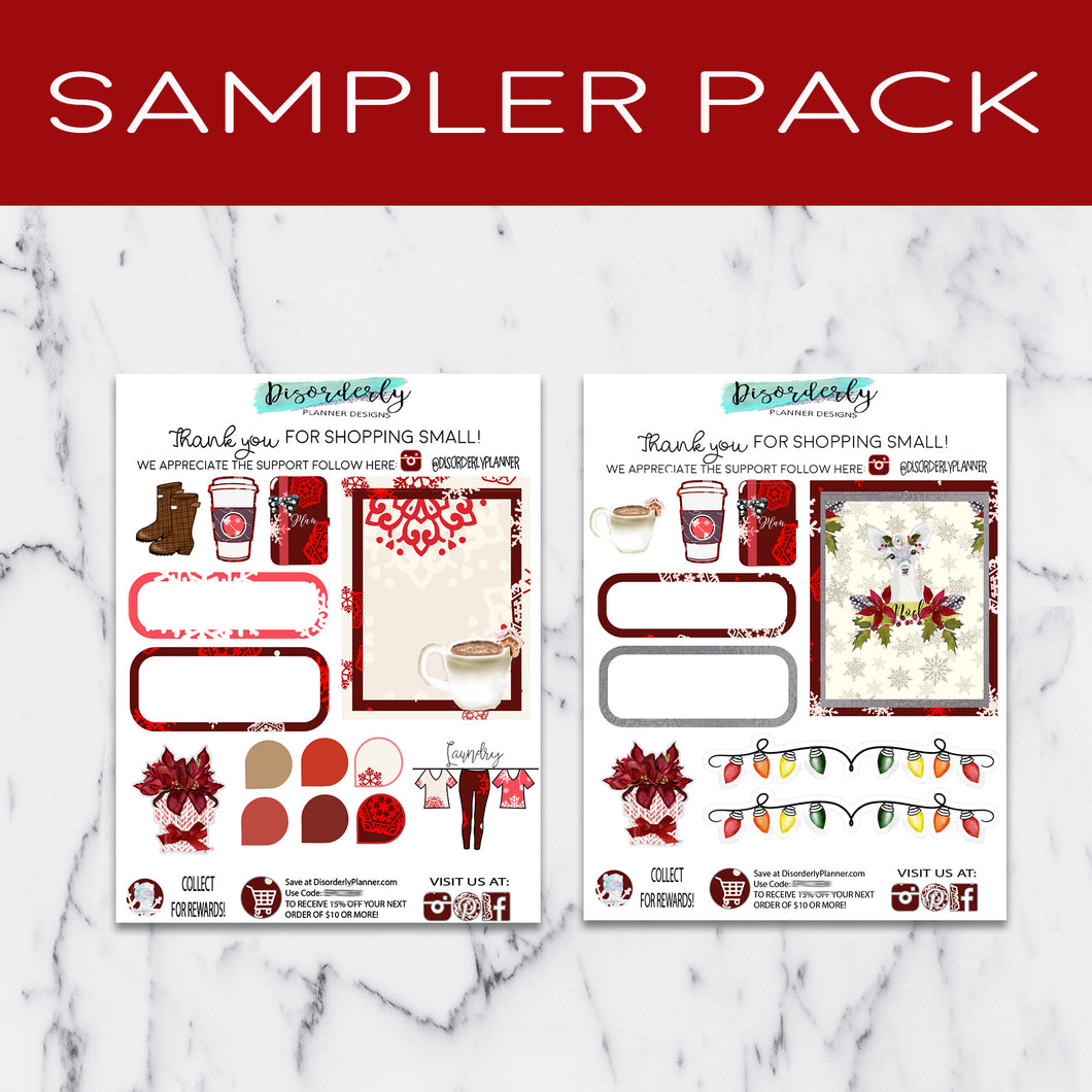 Disorderly Planner Sampler