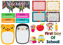 Back to school  Weekly kit