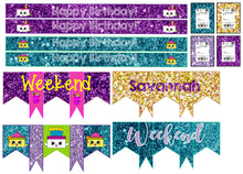 Custom Birthday Weekly Monthly Planner stickers
