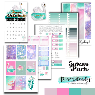Swan Sticker Pack - Sticker Bundle