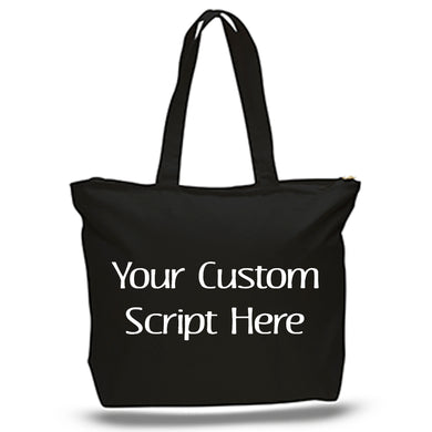 Custom Script Tote - Disorderly Planner - Wearables
