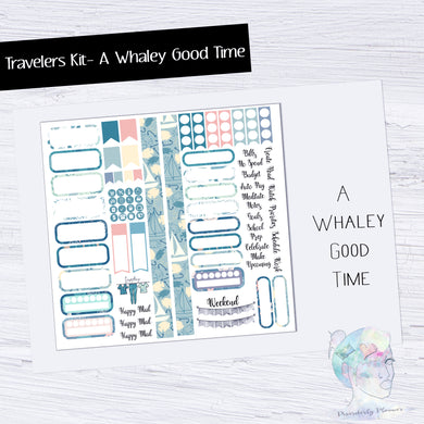 Functional Travelers Kit- A Whaley Good time!