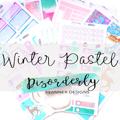 Pastel Winter Sticker Pack